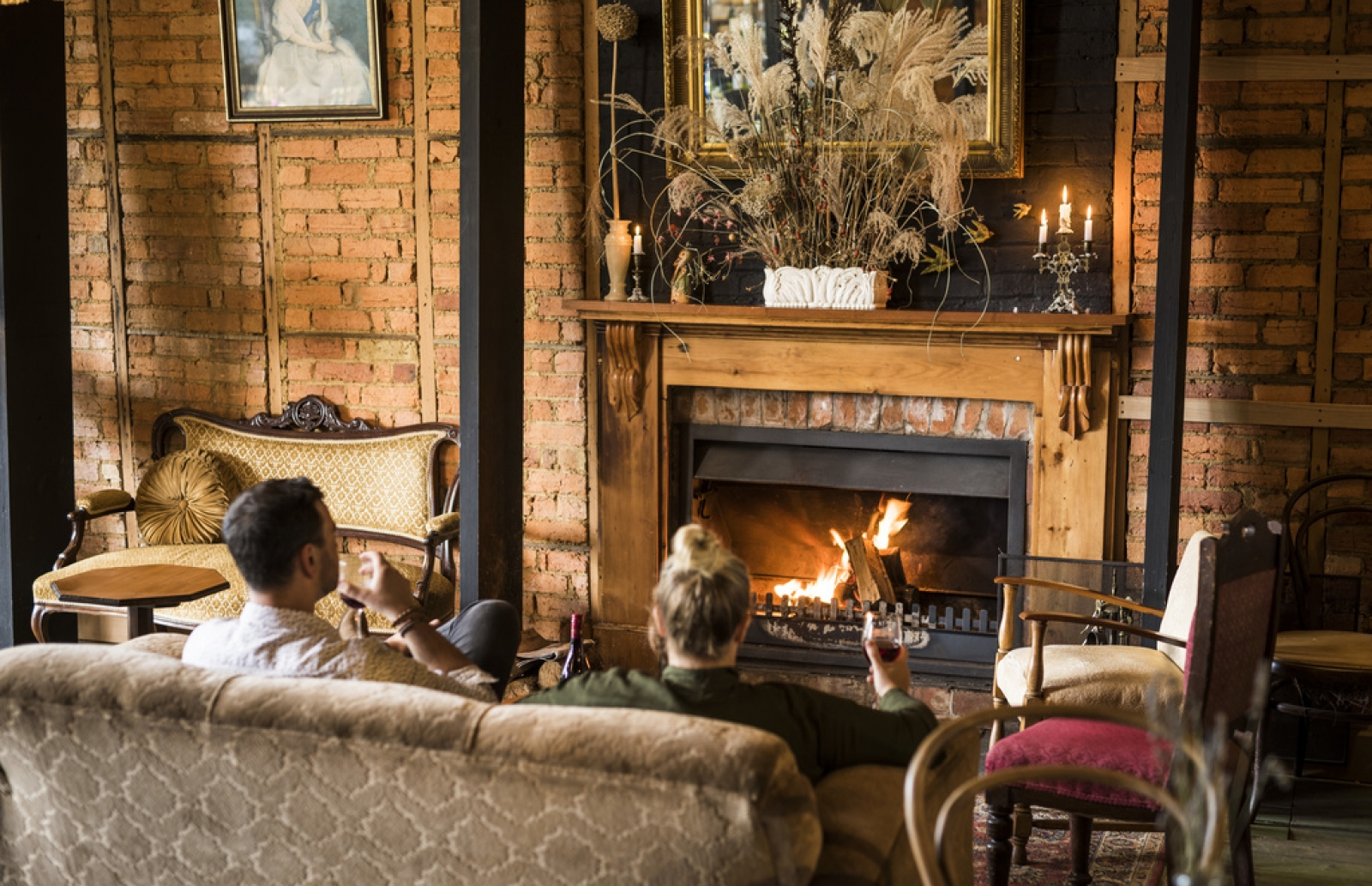 Country Pubs with Fireplaces